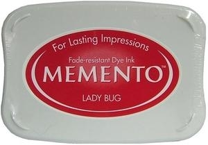 Tsukineko Memento Ink Pad LADY BUG ME-300 Preview Image