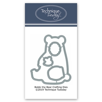 Technique Tuesday BOBBI THE BEAR Crafting DIY Dies 02755