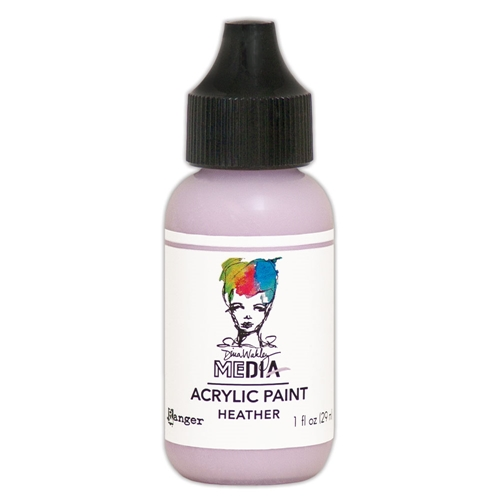 Dina Wakley Ranger HEATHER 1OZ Media Acrylic Paint mdq65609 Preview Image