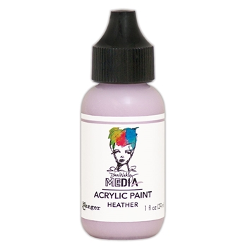 Dina Wakley Ranger HEATHER 1OZ Media Acrylic Paint mdq65609