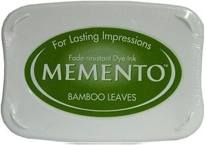 Tsukineko Memento Ink Pad BAMBOO LEAVES Green ME-707