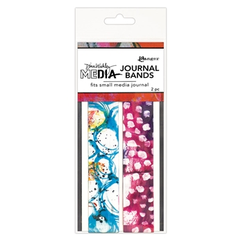Dina Wakley Ranger SMALL PRINTED JOURNAL BANDS Media mda66286