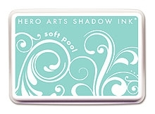 Hero Arts SHADOW Ink Pad SOFT POOL Aqua AF146 zoom image