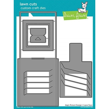 Lawn Fawn MAGIC PICTURE CHANGER Die Cuts LF1903