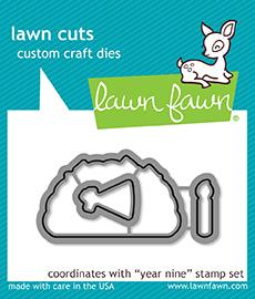 RESERVE Lawn Fawn YEAR NINE Die Cuts LF1902