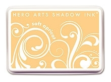Hero Arts SHADOW Ink Pad SOFT APRICOT Orange AF145