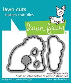 RESERVE Lawn Fawn RAIN OR SHINE BEFORE 'N AFTERS Die Cuts LF1889