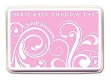 Hero Arts SHADOW Ink Pad SOFT BLOSSOM Pink AF147 zoom image