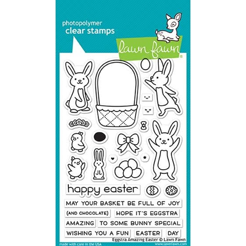 Lawn Fawn EGGSTRA AMAZING EASTER Clear Stamps LF1884 Preview Image