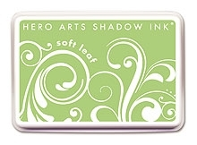Hero Arts SHADOW Ink Pad SOFT LEAF Green AF123* zoom image