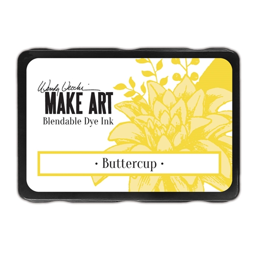 Ranger Wendy Vecchi BUTTERCUP Make Art Dye Ink Pad wvd64299 Preview Image