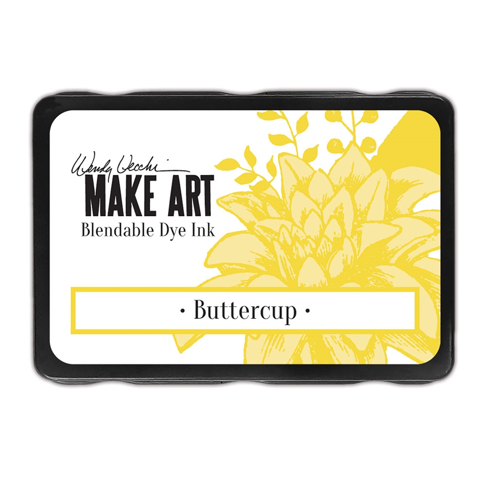 Ranger Wendy Vecchi BUTTERCUP Make Art Dye Ink Pad wvd64299 zoom image