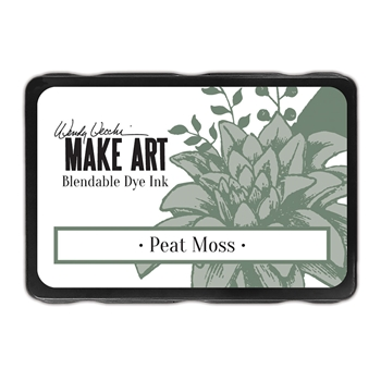 Ranger Wendy Vecchi PEAT MOSS Make Art Dye Ink Pad wvd64343