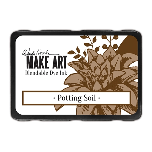 Ranger Wendy Vecchi POTTING SOIL Make Art Dye Ink Pad wvd64367 Preview Image