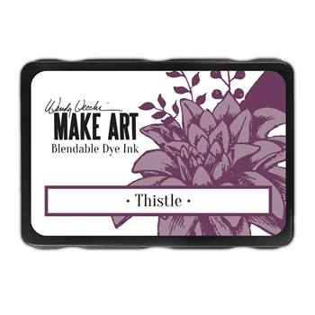 Ranger Wendy Vecchi THISTLE Make Art Dye Ink Pad wvd64398