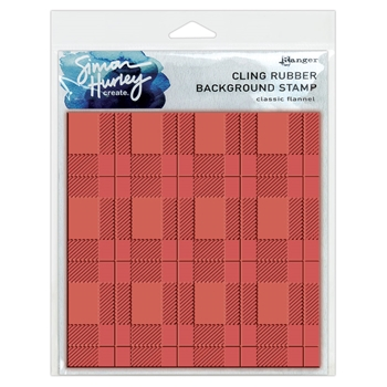 Ranger CLASSIC FLANNEL Simon Hurley Create Cling Rubber Stamp hur67474