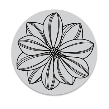 Hero Arts Florals Cling Stamp OVERLAPPING PETALS CG763
