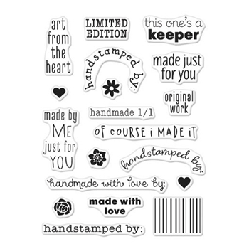 Hero Arts Clear Stamps GREETINGS LIMITED EDITION CM305