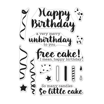 Hero Arts Clear Stamps CHEEKY BIRTHDAY CM321
