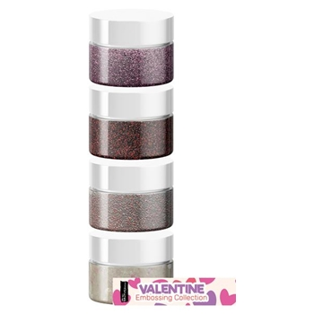 Brutus Monroe VALENTINE Embossing Powder Collection bru9972