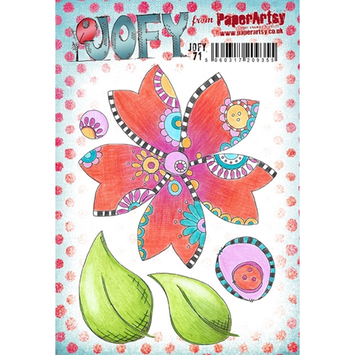 Paper Artsy JOFY 71 Cling Stamp Set jofy71 Preview Image