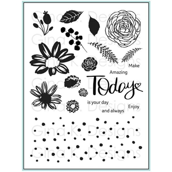 Gina K Designs TODAY AND ALWAYS Clear Stamps 2354