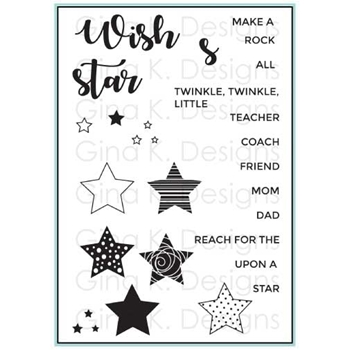 Gina K Designs ALL STAR Clear Stamps 2361