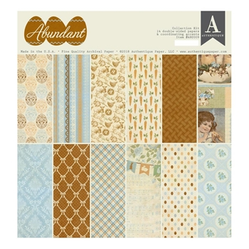Authentique ABUNDANT 12 x 12 Collection Kit abu009