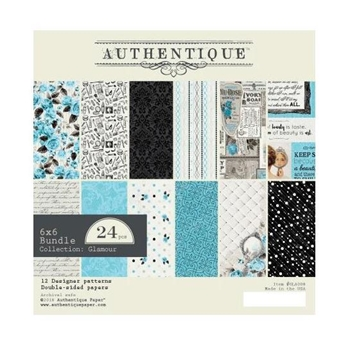 Authentique 6 x 6 GLAMOUR Paper Pad gla008