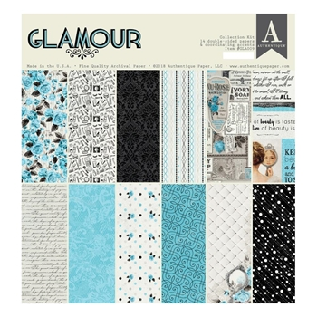 Authentique GLAMOUR 12 x 12 Collection Kit gla009