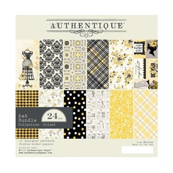 Authentique 6 x 6 POISED Paper Pad psd008