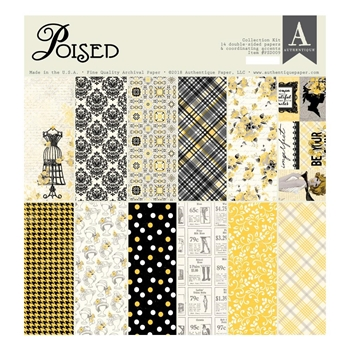 Authentique POISED 12 x 12 Collection Kit psd009