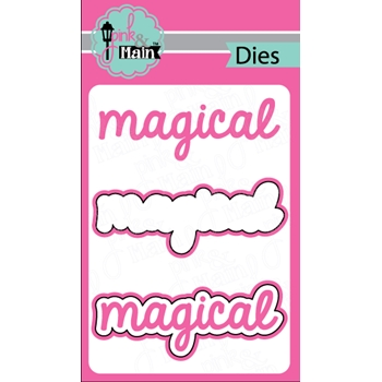 Pink and Main MAGICAL Dies PNM190