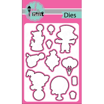 Pink and Main LIFE IS A CIRCUS Dies PNM189