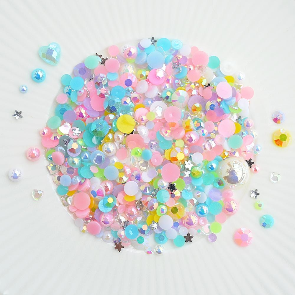 Little Things From Lucy's Cards Crystal Collection PRINCESS PARADE Sparkly Shaker Mix LB205 zoom image