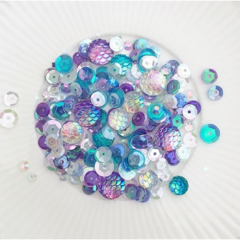 Little Things From Lucy's Cards LET'S BE MERMAIDS Sparkly Shaker Mix LB202