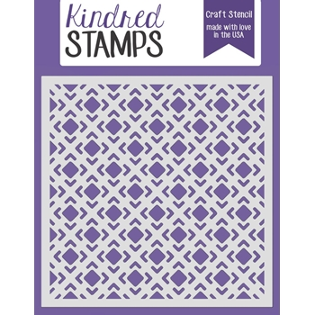 Kindred Stamps TILES Stencil 3903004