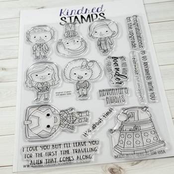 Kindred Stamps IT'S ABOUT TIME Clear Stamp Set 76277788
