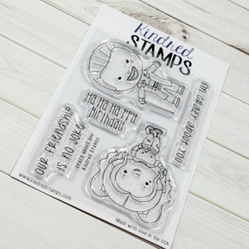 Kindred Stamps CRAZY ABOUT YOU Clear Stamp Set 55502876