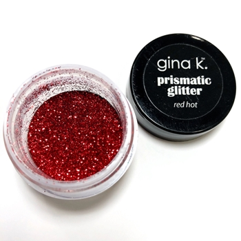 Gina K Designs RED HOT Prismatic Glitter 2149