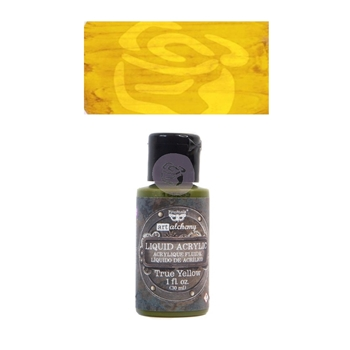 Prima Marketing TRUE YELLOW Art Alchemy Liquid Acrylic Paint 967239
