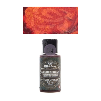 Prima Marketing TIGER ORANGE Art Alchemy Liquid Acrylic Paint 967246