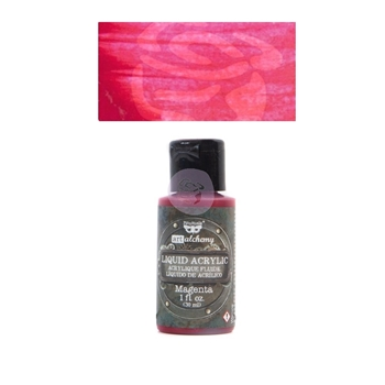 Prima Marketing MAGENTA Art Alchemy Liquid Acrylic Paint 967260