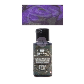 Prima Marketing PURPLE Art Alchemy Liquid Acrylic Paint 967277