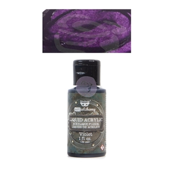 Prima Marketing VIOLET Art Alchemy Liquid Acrylic Paint 967284