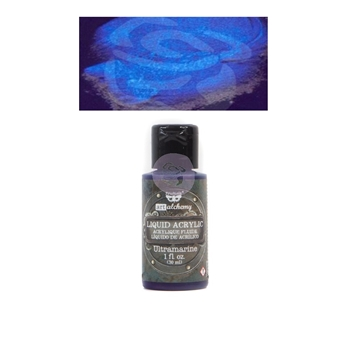 Prima Marketing ULTRAMARINE Art Alchemy Liquid Acrylic Paint 967291