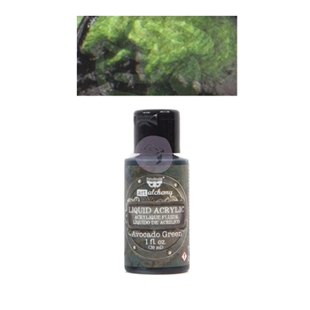 Prima Marketing AVOCADO GREEN Art Alchemy Liquid Acrylic Paint 967321