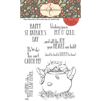 Colorado Craft Company ST.PATRICK'S DAY Clear Stamps LL228