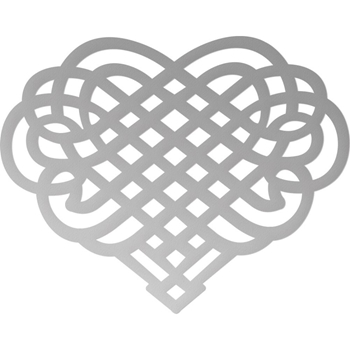 Couture Creations MINI WOVEN HEART Die Butterfly Garden co726541