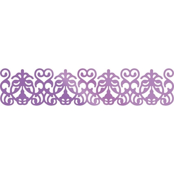Couture Creations GARDEN BORDER Hotfoil Stamp Butterfly Garden co726564